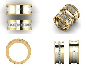 Ring 3D print model beauty