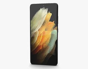 3D model Samsung Galaxy S21 Ultra 5G Phantom Titanium