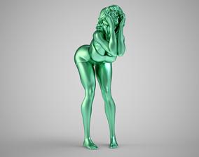 Cute Woman 3D print model