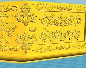 3D printable model Vintage Jewelry Box Baroque