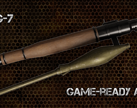 RPG-7 3D model game-ready