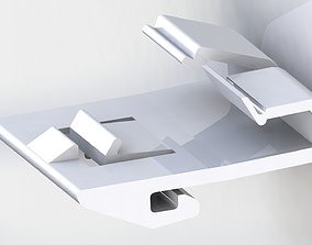 3D print model molding for lexus