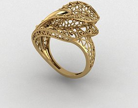 Ring 1 3D print model necklace