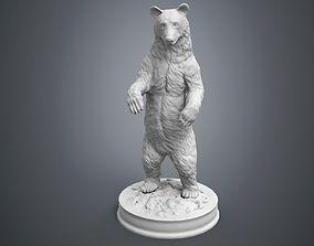 3D printable model Black Bear Sculpture
