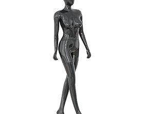 Abstract female mannequin 06 3D