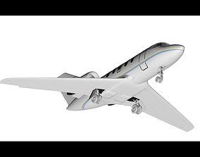 Privat airplane Cessna Citation 3D asset