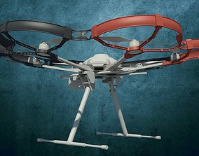 3D print model Rotor protection for DJI S800 pluggable