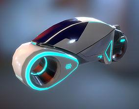 Scie-Fi Vehicle 3D model