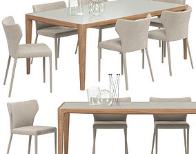 Natuzzi Pi Greco chair 3D model
