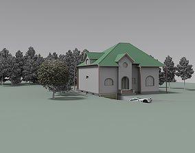 classical FarmHouse 3D model