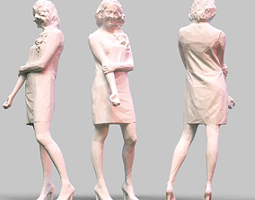 Girl Posing 3D print model