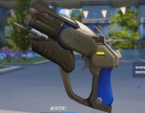 Mercy combat medic gun Overwatch 3D print model