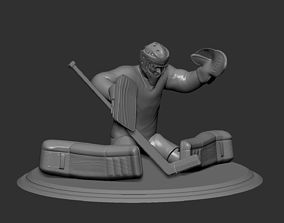 Hockey Player goalie 6