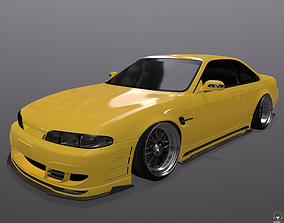 game-ready Nissan Silvia S14 326 Power 3D-Star bodykit