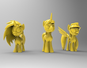 pony for 3D printing
