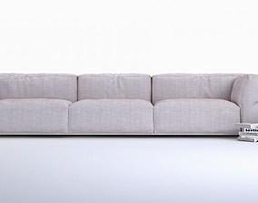 3D model Modern long sofa