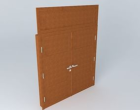 Main Brown Door 3D model