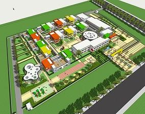 Educational Complex design 3D