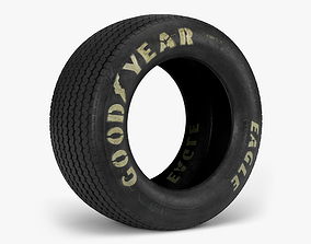Goodyear Billboard Tire cobra 3D model
