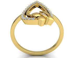 3D printable model Diamond Ring 56