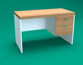 3D model low-poly Modern Desk