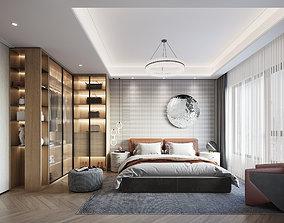 Bedroom-Bathroom-CORONA 3dmodel 3D model