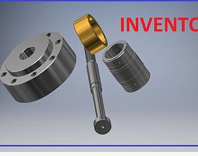 Hidrolic System Inventor 3D model