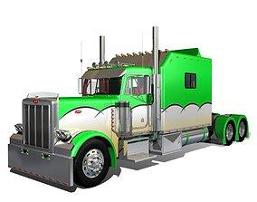 379 Legacy Semi Truck 3D