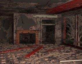 3D asset Horror Environment