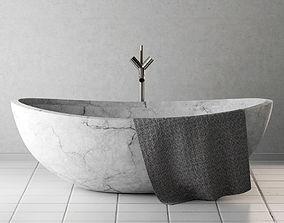 3D Bath stone wite mrrable