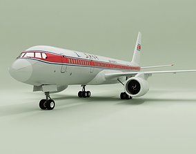 Tupolev tu 204 3D