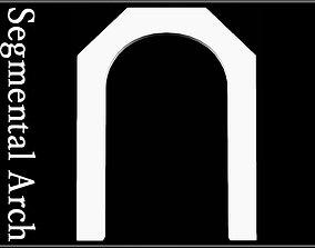 3D asset Segmental Arch