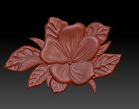 3D printable model flower printable