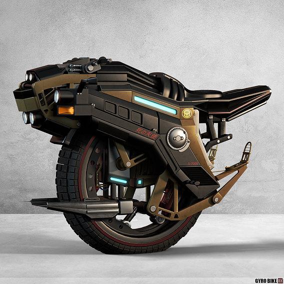 S-7000 Gyro Bike