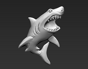 Predatory Shark 3D print model