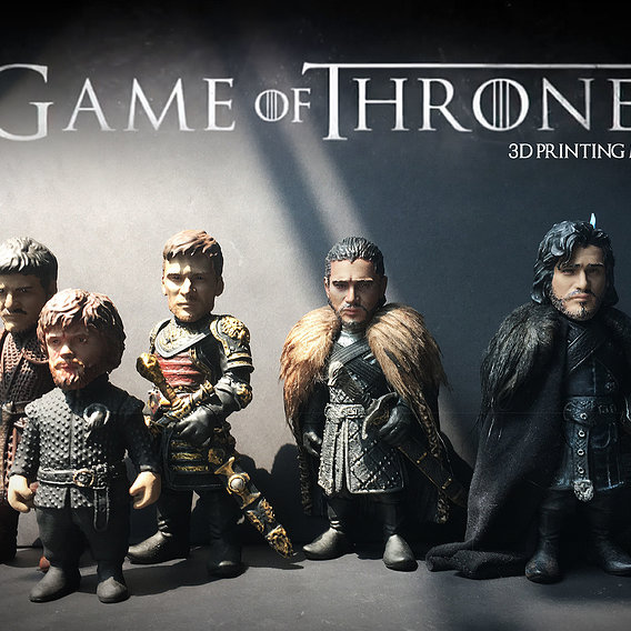 Game of thrones 3D printing Models