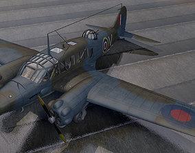 Avro Anson Mk-1 3D model