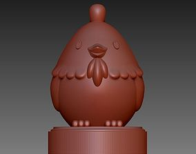 Cute bird for 3D printing