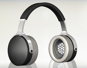 Premium Closed Back Headphones - CBR1 3D print model