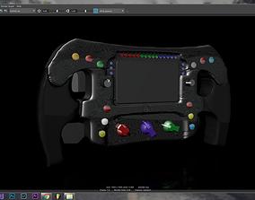 Mercedes F1 Steering Wheel 3D print model