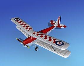 Dehavilland DH82 Tiger Moth V07 3D