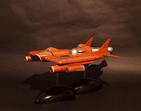 UFO Lunar module and Lunar 3D print model