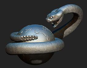 rattlesnake 2 3D print model