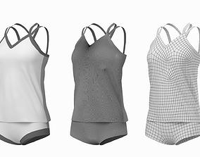 3D model Woman Sportswear 07 Base Mesh Design Kit