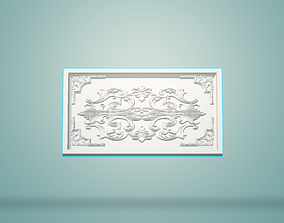 classical 3D model made for engraving furniture