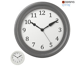 3D Wall clock IKEA SONDRUM