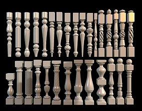 30 Baluster 3D model