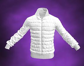 Down Sweater White Jacket 3D model