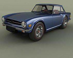 Triumph TR6 mk2 3D