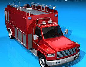 Firetruck us medium 3D